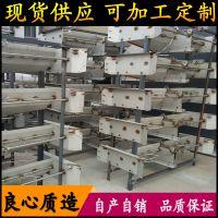 重庆大型猪场指定安装刮粪机 不锈钢清粪机自动刮粪板 利祥牌