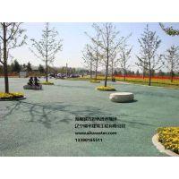海绵城市彩色透水地坪施工价格13390165511