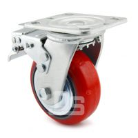 大世脚轮 万向轮批发 高承载耐油脂汽车厂装配车间 设备用脚轮 耐高压重荷