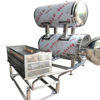 春泽出售肉制品灭菌锅 双层不锈钢材质