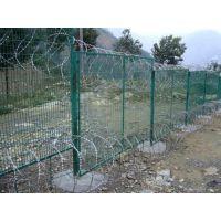 鄂州水源地河道两旁防护栏图片-迅方水源地围网
