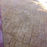 品石混凝土压模地坪只要想到就能做到 C25强度压模地坪原料