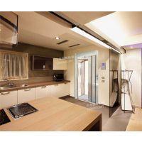 永州泰辉厂家订做家用电梯 单面导轨钛镁合金轿厢别墅电梯直销