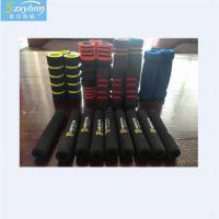 定制健身器材防护把套 双色带沟槽防滑套