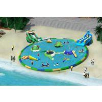 宽度可以调长度可以定水上乐园大型支架水池浓浓的快乐味