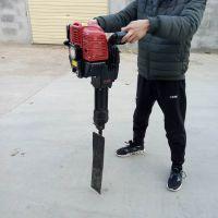 手持式汽油移栽机哪里有卖 弧形铲头起树机 富兴合金链条挖树机