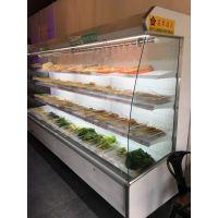 花房串串的菜品展示柜哪里买的,花房菜品柜供应商