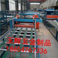 河南鲁辉zs复合保温外模板抗开裂抗空鼓岩棉砂浆复合板设备厂家直销