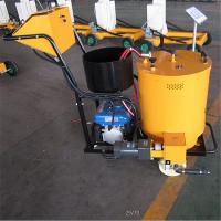 仲迪厂家小型沥青路面灌缝机60L-100L 小车式马路手推式灌封机道路裂缝修补价格