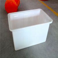 K-140L塑料方箱周转箱养殖箱塑料水箱养鱼养龟水产养殖牛筋料胶箱