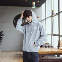 忆惜格罗 日系男装 2017卫衣秋装新品 青少年男式韩版连帽衫 套头潮外套卫衣 男