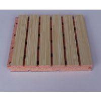 南宁15mm学校多媒体教室墙面木质吸音板安装
