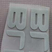 东莞厂家定制硅胶烫标 服饰 运动鞋硅胶热转印LOGO