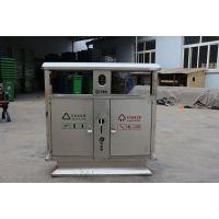 临沂垃圾桶批发 分类果皮箱 不锈钢垃圾箱HS-978 厂家可定制