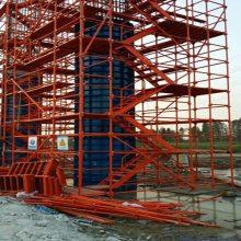 河北衡水(河北通达)13722831438施工安全爬梯生产厂家