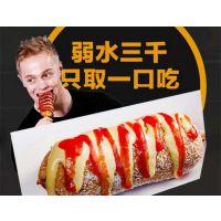韩国进口热狗韩式芝士热狗棒拉丝原材料批发,免费技术培训