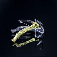 MINI牙签弹弓 便携式牙签射箭 模型 送牙签