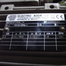 ELECTRO ADDA电机FE112M-4意大利原装进口
