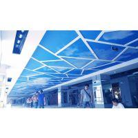 珠海力奇广告喷绘UV软膜天花吊顶逐步成为装饰装修领域的亮点