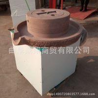 【豆浆电动石磨】豆浆电动石磨机价格 米浆专用电动石磨