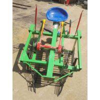 四轮拖拉机带土豆收获机厂家 汽油手推大蒜起蒜机 链条式收花生机