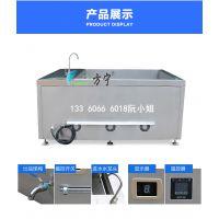 方宁食品厂大容量电炸锅,电磁油炸锅,食品加工厂大型电炸炉