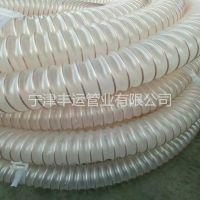 丰运生产佛山木粉吸排管PU高伸缩管封边机除尘管 家具厂吸尘管