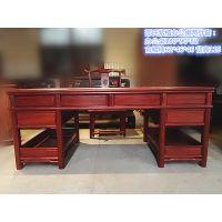 邵氏紫檀中式明清古典仿古办公桌家具