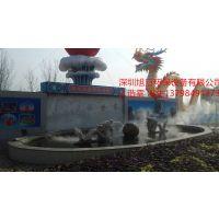 人造雾设备游乐场喷雾降温工程