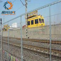 衢州铁路护栏围栏@厂家定制各种规格浸塑铁路隔离网