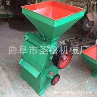 小型家用玉米脱皮制糁机 水稻碾米机 多功能杂粮脱皮机