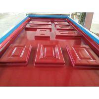 欧式浮雕门覆膜机 橱柜门板吸塑机