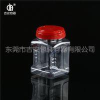 PET 1000ml塑料透明瓶 1kg包装方罐