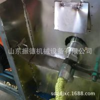 玉米麻花空心棒膨化机设备 振德 五谷杂粮膨化机 自动大型爆米花