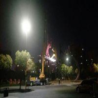 扬州雕塑生产厂家供应江苏网球拍灯光雕塑