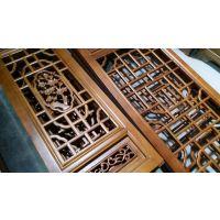 惠森古建定制古建筑实木仿古门窗_中式建筑门窗