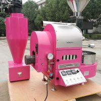 1KG咖啡烘焙机 不锈钢双层滚筒咖啡豆烘培机 南阳东亿提供个性化定制服务