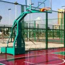 杭州篮球场围栏 4米高学校操场隔离网 双赫球场围栏网设施