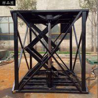 河北龙辉机械 工厂物流货物搬运装卸用金属钢制升降平台 起重器