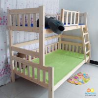 重庆实木高低床单位宿舍床定制