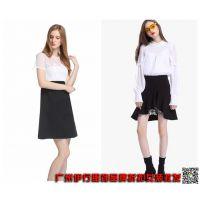 香港一线品牌折扣女装欧时力18年夏装专柜正品批发