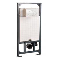 潮州分体铁架耐用墙排直冲式暗装分体陶瓷挂便器水箱