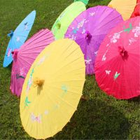 厂家直销舞蹈伞 油纸伞 纯手工手绘工艺伞 舞蹈表演道具伞批发