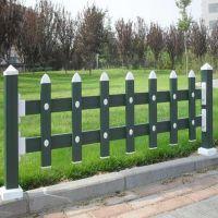 朋英 生产销售 草坪绿色锌钢围栏 喷塑隔离栏杆