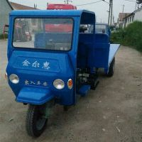 有循环水箱的农用三轮车 自卸式农用三轮车参数 金尔惠加宽加厚三马子型号