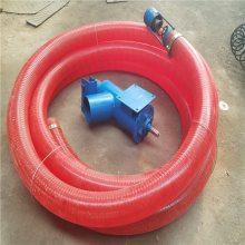 单相电220v吸粮机 汽油机软管吸粮机价格 家用橡胶管粮食上料机