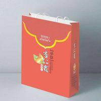 深圳印刷厂定做 手提袋 牛皮纸袋 食物手提纸袋