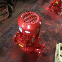 山东双轮消防泵型号XBD12.0/15-HL立式单级喷淋泵室外消火栓泵