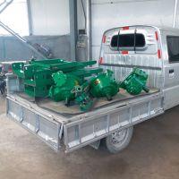 大树苗植树机视频 牵引式挖坑种树机 电线杆挖坑机