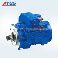 德国力士乐柱塞泵A4VTG090排量型号用于混泥土搅拌机等建筑机械